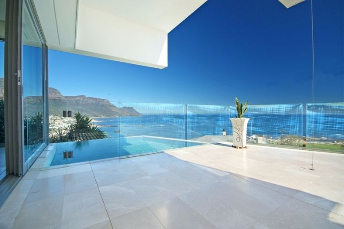 expansive views Clifton View Luxurious Villa Yvette Victoria Rd -South Africa