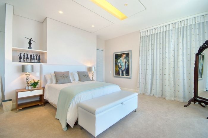 small bedroom design Clifton View Luxurious Villa Yvette Victoria Rd -South Africa