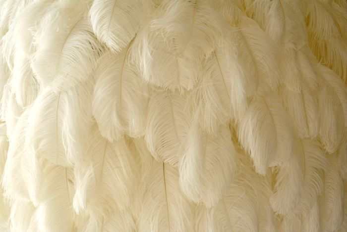feather chandelier Clifton View Luxurious Villa Yvette Victoria Rd -South Africa