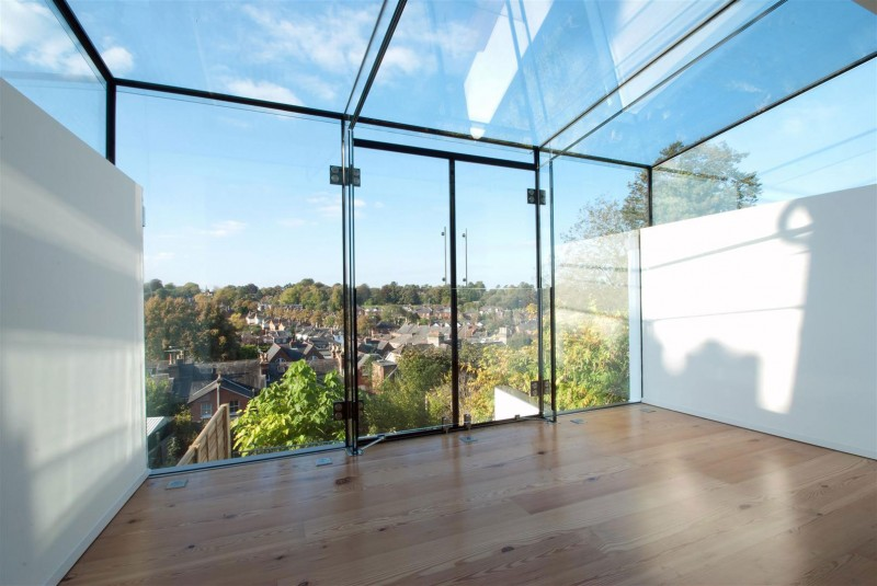 high end Clifton View Mansion Glass Extension in England by AR Design Studio