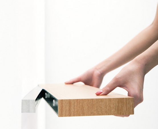 Clopen Shelf by Torafu Architects Experiment And Design
