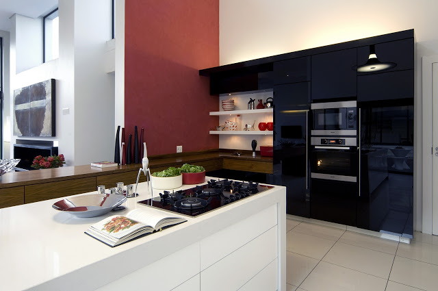 kitchen interior design Dream Home Close to Achieving Perfection- House Mosi by  Nico van der Meulen Architects