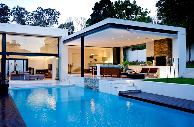swimming pool Dream Home Close to Achieving Perfection- House Mosi by  Nico van der Meulen Architects