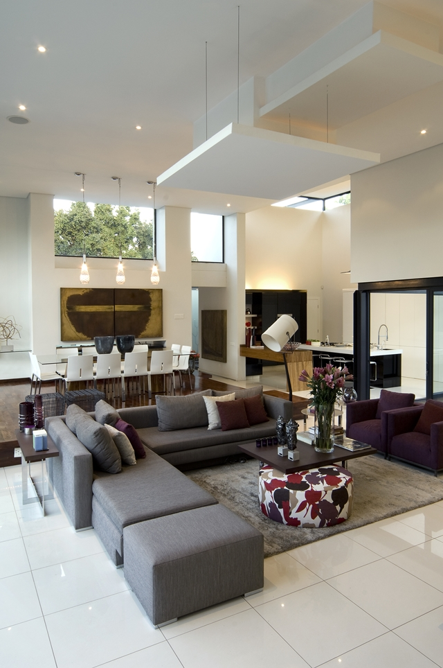 living room interior design Dream Home Close to Achieving Perfection- House Mosi by  Nico van der Meulen Architects