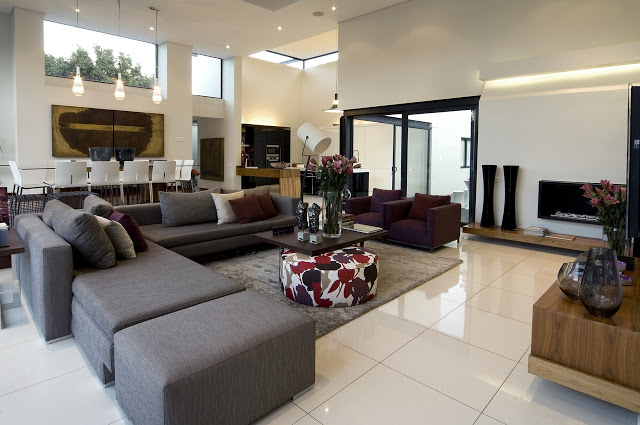 living room Dream Home Close to Achieving Perfection- House Mosi by  Nico van der Meulen Architects