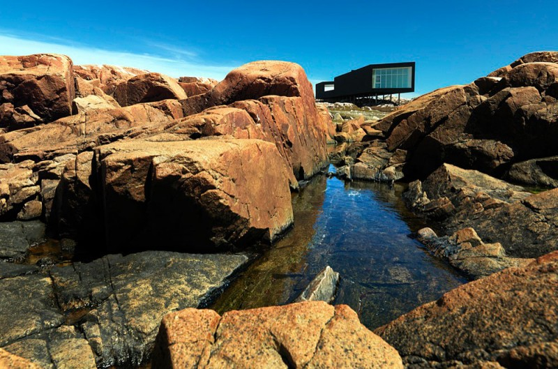 Fogo Island Long Studio by Saunders Architecture