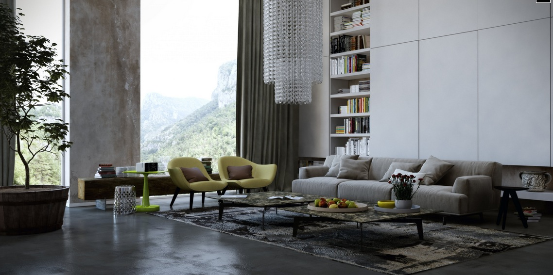 Fresh and Sleek Modern Bachelor Pad Ideas Collection Homesthetics