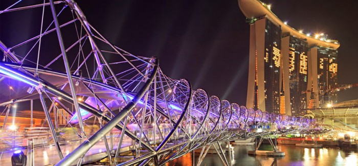 High Tech Architecture - Helix Bridge in Singapore by Cox Architecture&Architects 61