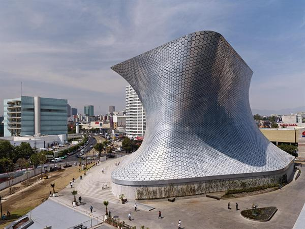 Impressive Steel Building-Museo Soumaya in Granada, Mexico by FREE Fernando Romero Enterprise Homesthetics