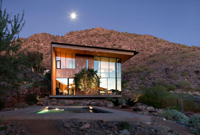 Jarson Residence -Contemporary Modern Mansion by Will Bruder+PARTNERS