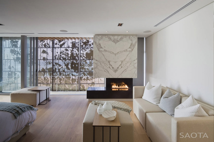 living room interior design modern fireplace vLa-Lucia-Modern-African-Mansion-in-Durban-South-Africa-Designed-by-SAOTA-homesthetics