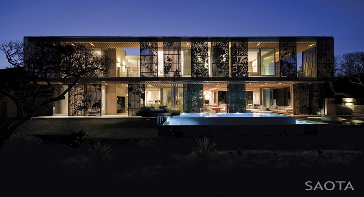 La-Lucia-Modern-African-Mansion-in-Durban-South-Africa-Designed-by-SAOTA-homesthetics illuminated from within