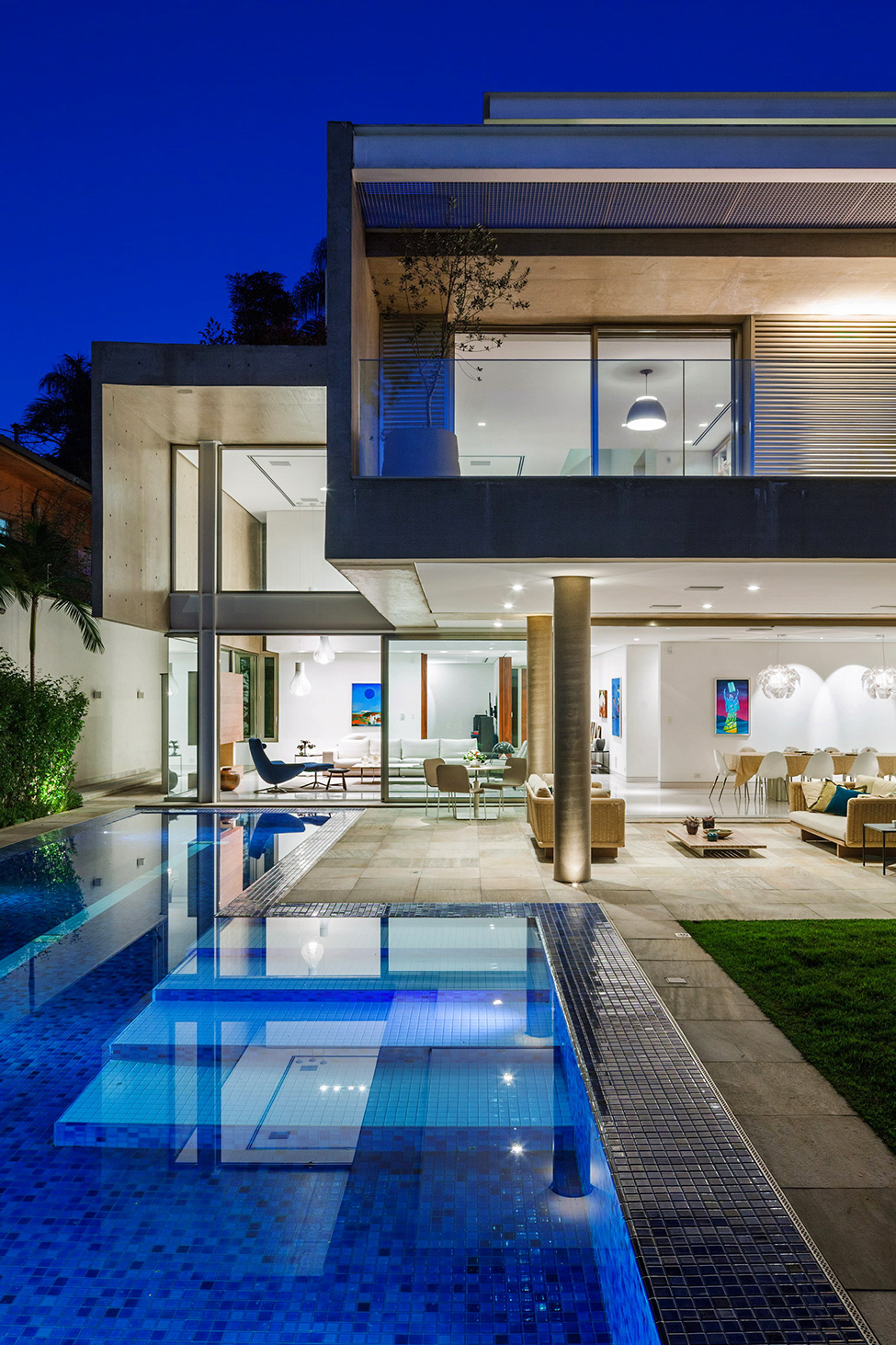 Living Spaces Vista Ca : MG Residence – Modern Mansion Luxury and Style Standard by ...