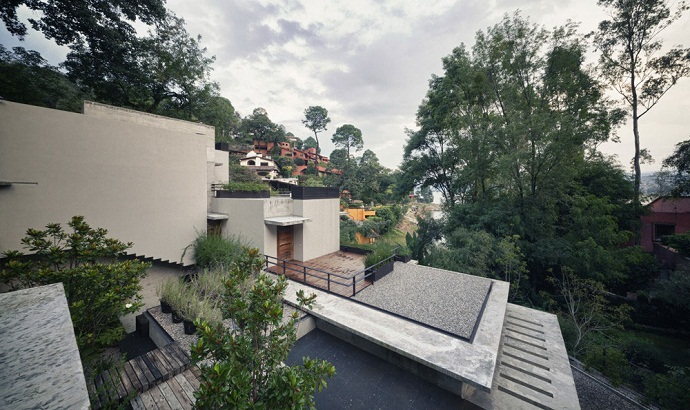 MZ House by CHK Arquitectura-Modern Mansion in the Green Heaven
