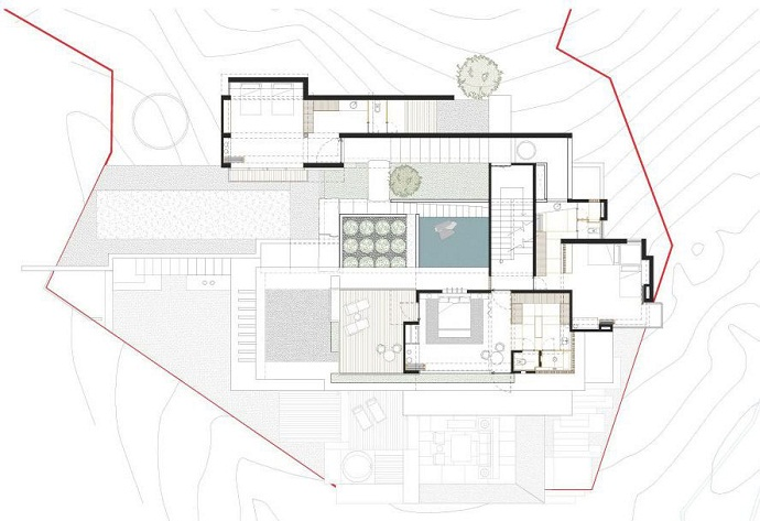 MZ House by CHK Arquitectura-Modern Mansion in the Green Heaven homesthetics dream house (24)