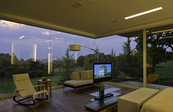 Marble L-Shaped Modern Mansion with Amazing Backyard Landscaping homesthetics (1)
