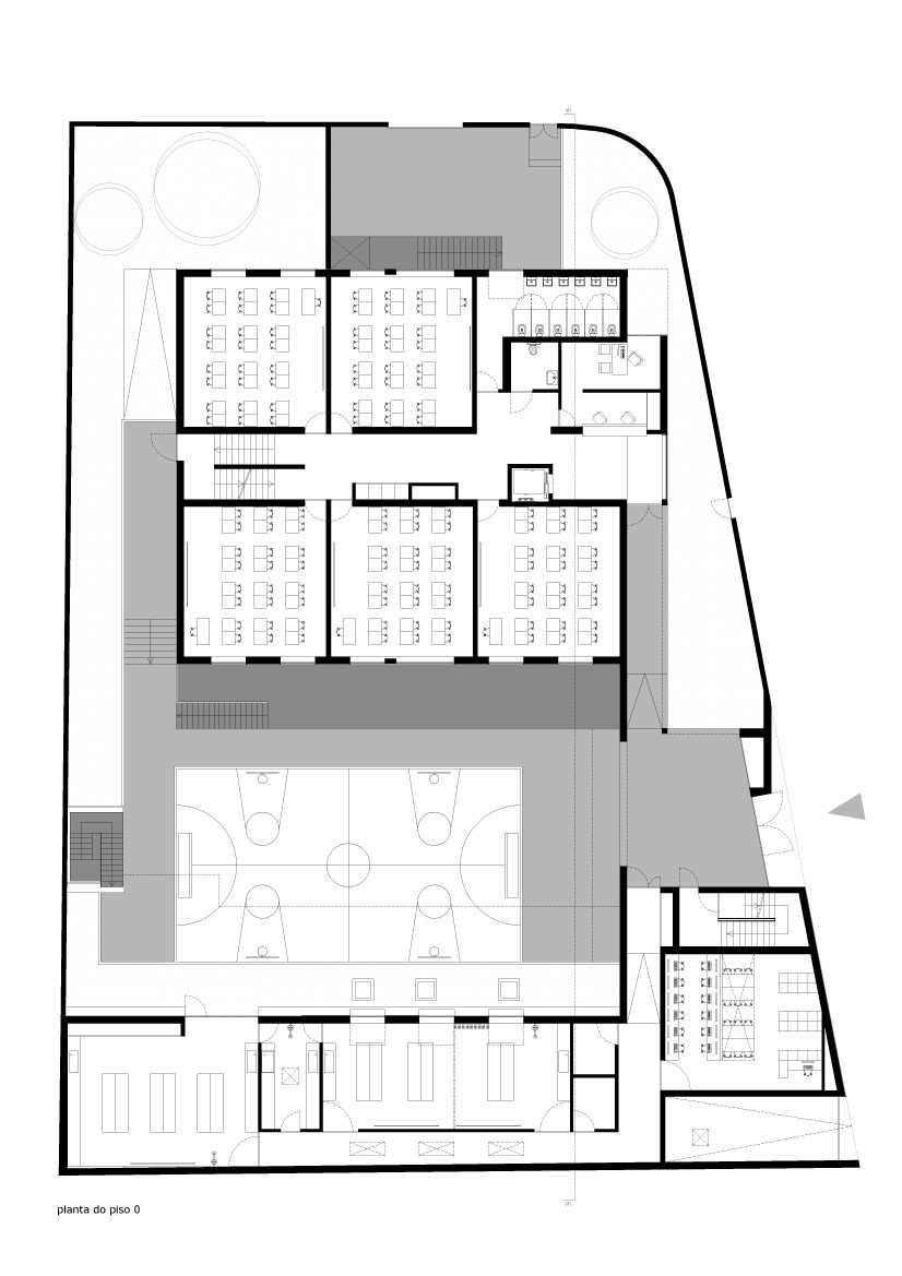 blueprint Minimalist-Private-College-Designed-by-OVAL-Exudes-Contemporary-Style