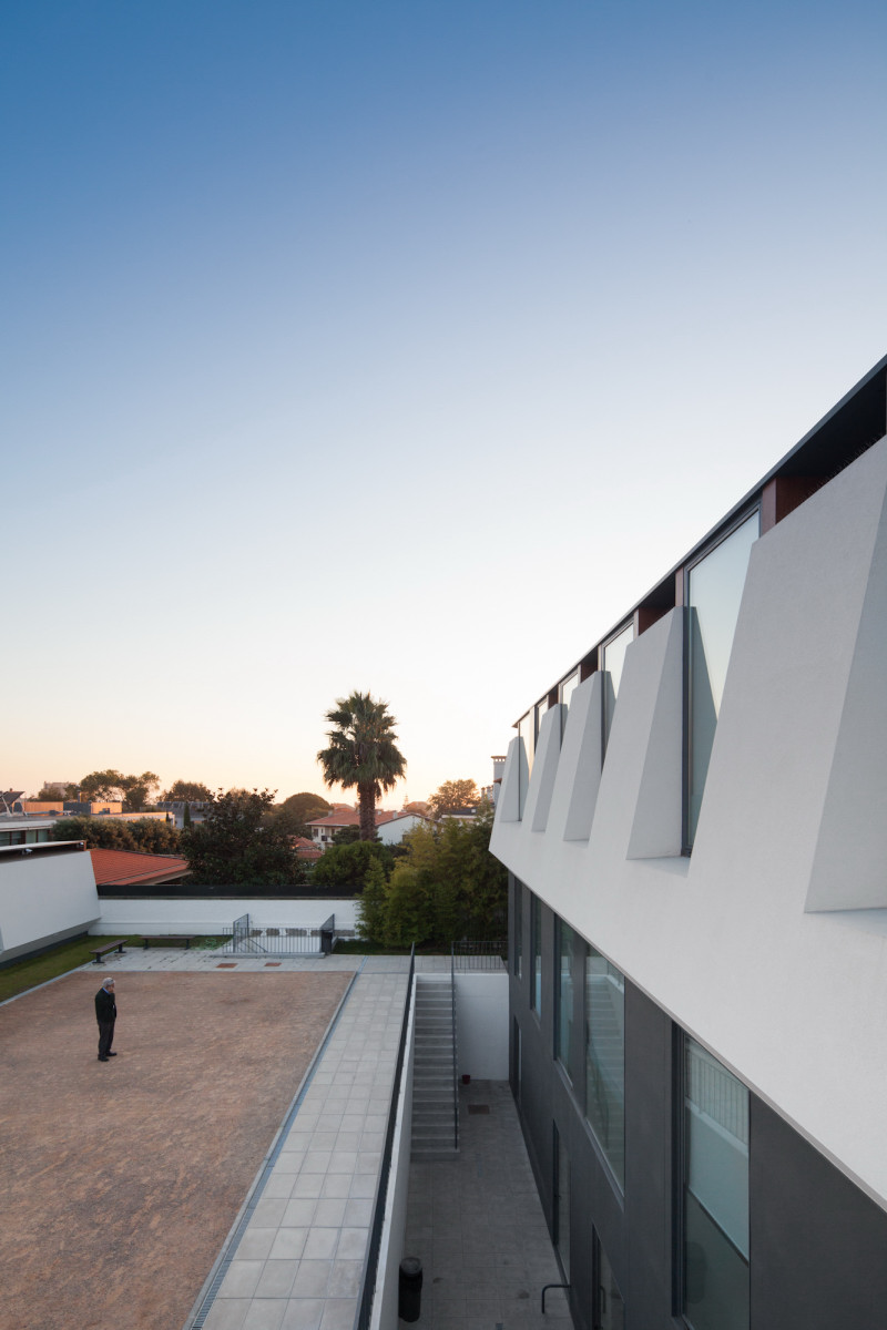 view from one window Minimalist-Private-College-Designed-by-OVAL-Exudes-Contemporary-Style