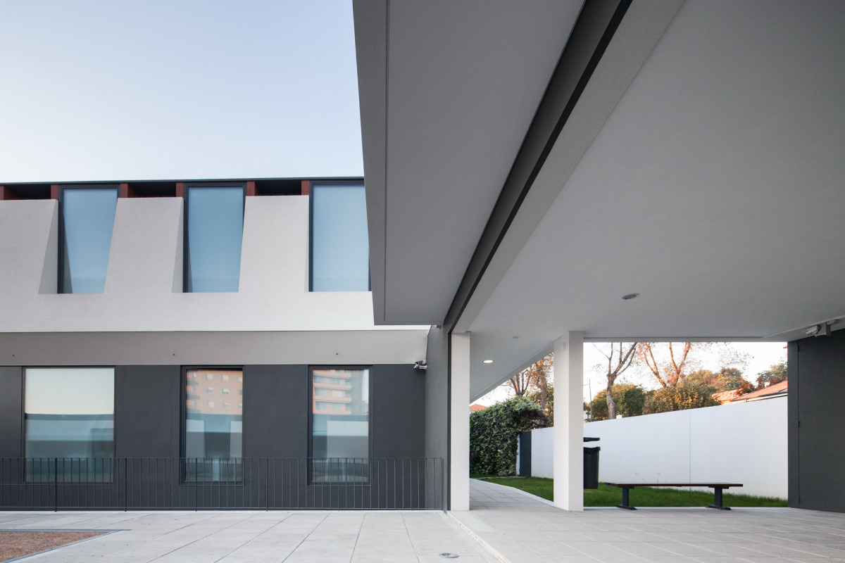 detail shot Minimalist-Private-College-Designed-by-OVAL-Exudes-Contemporary-Style