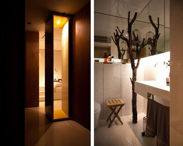 Minimalist Yet Luxurious Interior Design : Closet House by Consexto small space solutions