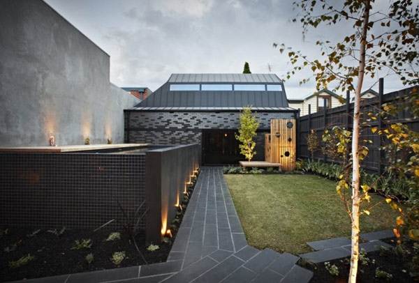 Mix of Styles in Enclave House by BKK Architects in Melbourne Australia elegant