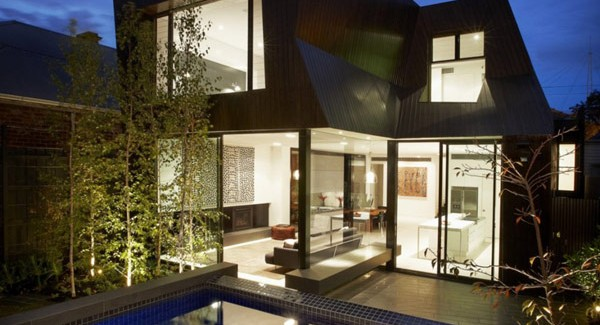 Mix Of Styles In Enclave House By Bkk Architects In