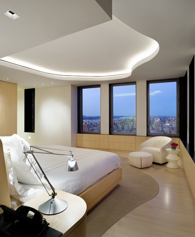 Average Nyc Apartment Bedroom Master Bedroom Design Ideas Nz Bedroom Chair Bedroom With Black Curtains: Modern Central Park West Penthouse Duplex In Manhattan