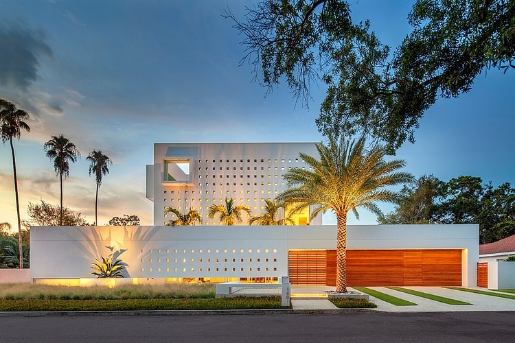 Modern Impeccable Dream Florida Mansion By Office For Architecture