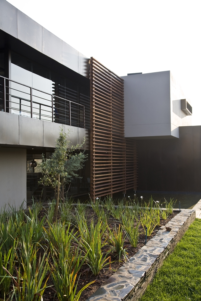 Modern Jewel Between South African Mansions - Serengeti Houseby Nico van der Meulen Architects