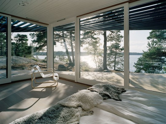 Modern Mansion Passing As Cabin In The Woods Archipelago House In Stockholm  By Tham U0026 Videgård Arkitekter