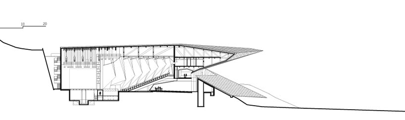 Modern Unusual Shapes-The Festival Hall In Erl By DMAA Homesthetics