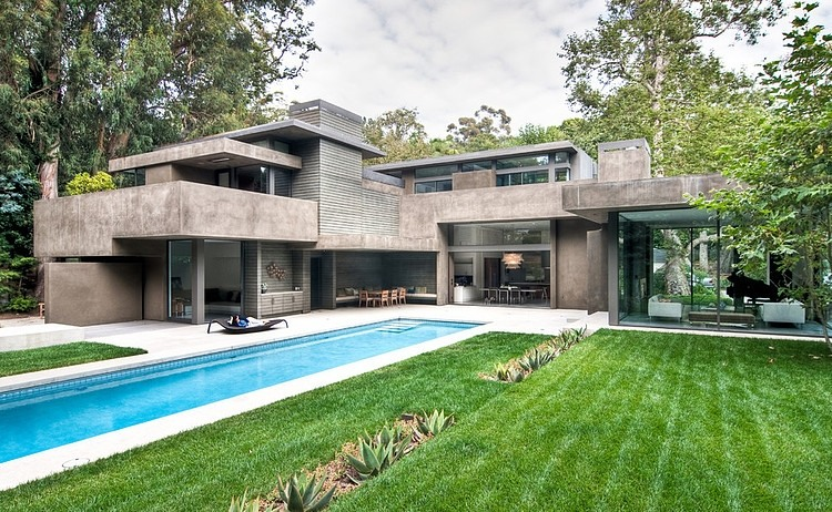 Modern Dream Home Surrounded By Forest ChuGooding