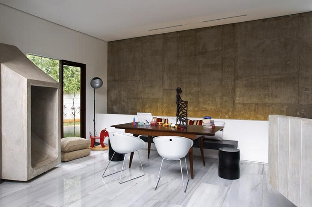 luxurious kitchen One of a Kind Modern Mansion-The Playhouse in Indonesia by Aboday Architects
