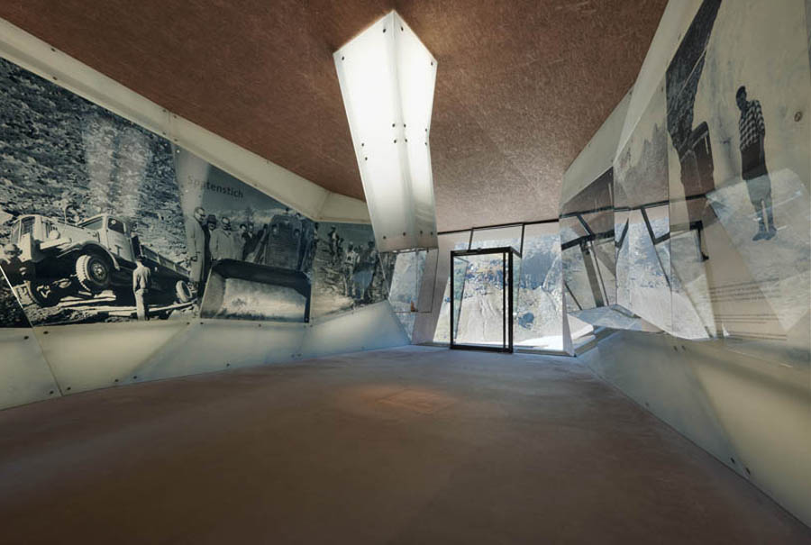 Pass Museum in Tyrol:Tribute Sculpture by Werner Tscholl Architects art