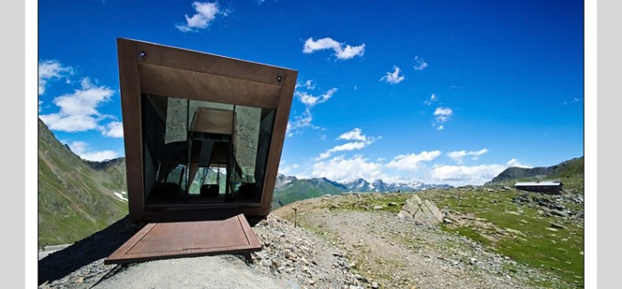 Pass Museum in Tyrol:Tribute Sculpture by Werner Tscholl Architects
