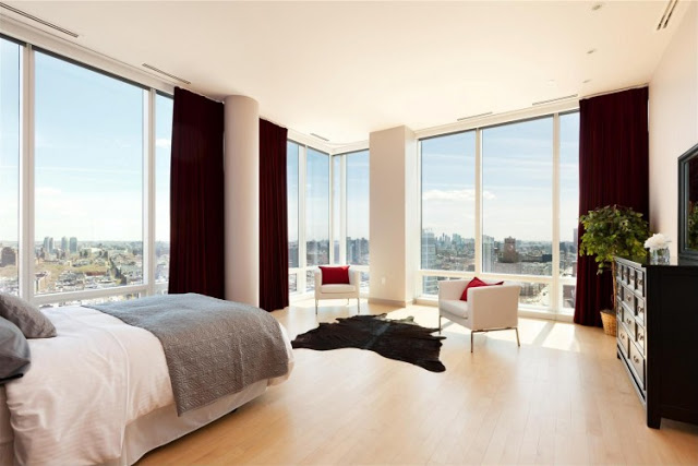 bedroom interior design Sculpture-For-Living-Duplex-Penthouse-Located-in-Astor-Place-New-York-homesthetics-modern-mansion