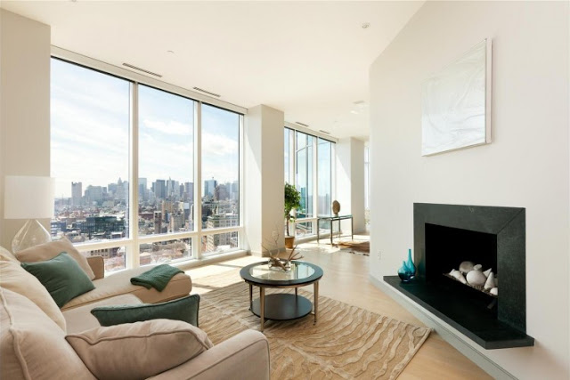 living room interior design Sculpture-For-Living-Duplex-Penthouse-Located-in-Astor-Place-New-York-homesthetics-modern-mansion