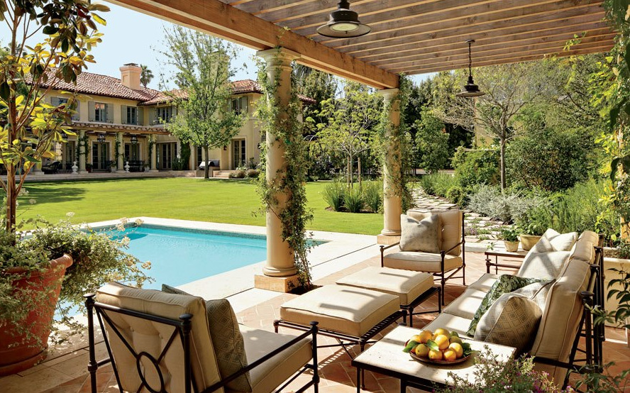 Stylish Outdoor Spaces: A Place for Relaxation and Peace