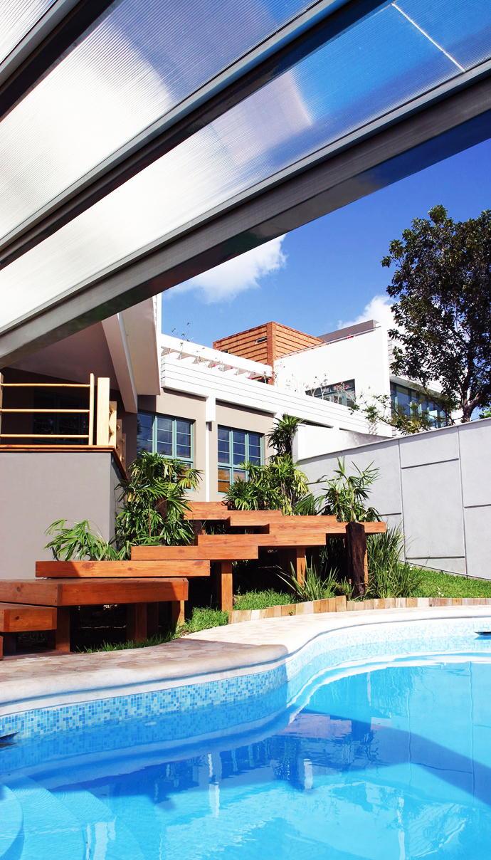 backyard landscaping Unusual Modern Mansion-Tingo and Fenny House by Pons Arquitectos in Santo Domingo homesthetics (3)