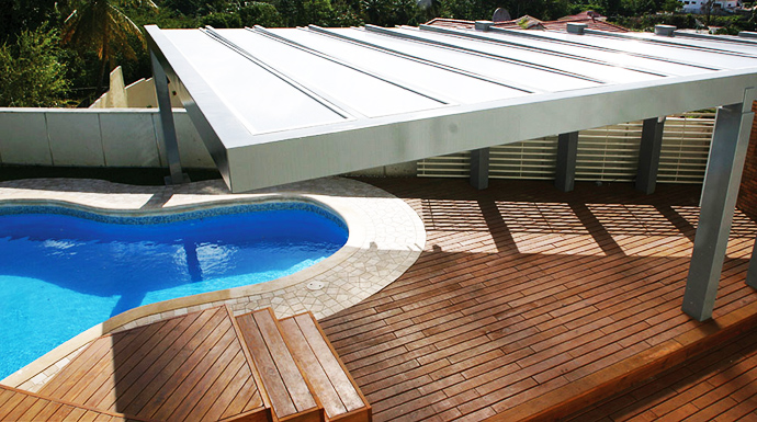 backyard landscaping ideas swimming pool Unusual Modern Mansion-Tingo and Fenny House by Pons Arquitectos in Santo Domingo homesthetics (3)