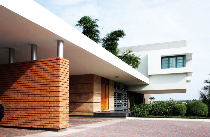 car dock Unusual Modern Mansion-Tingo and Fenny House by Pons Arquitectos in Santo Domingo homesthetics (3)