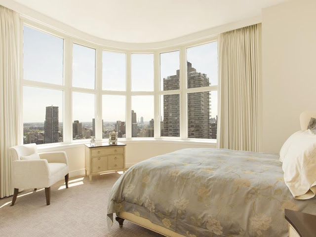 bedroom interior design Upper-East-Side-Penthouse-in-Manhattan-New-York-by-World-Renowned-Architect-Philip-Johnson