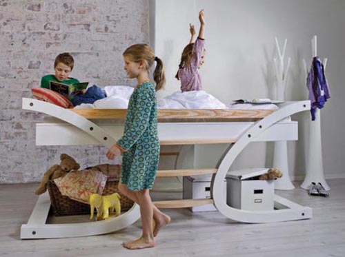 Versatile Bunk Bed for Small Bedroom Designs by Mimondo homesthetics (5)