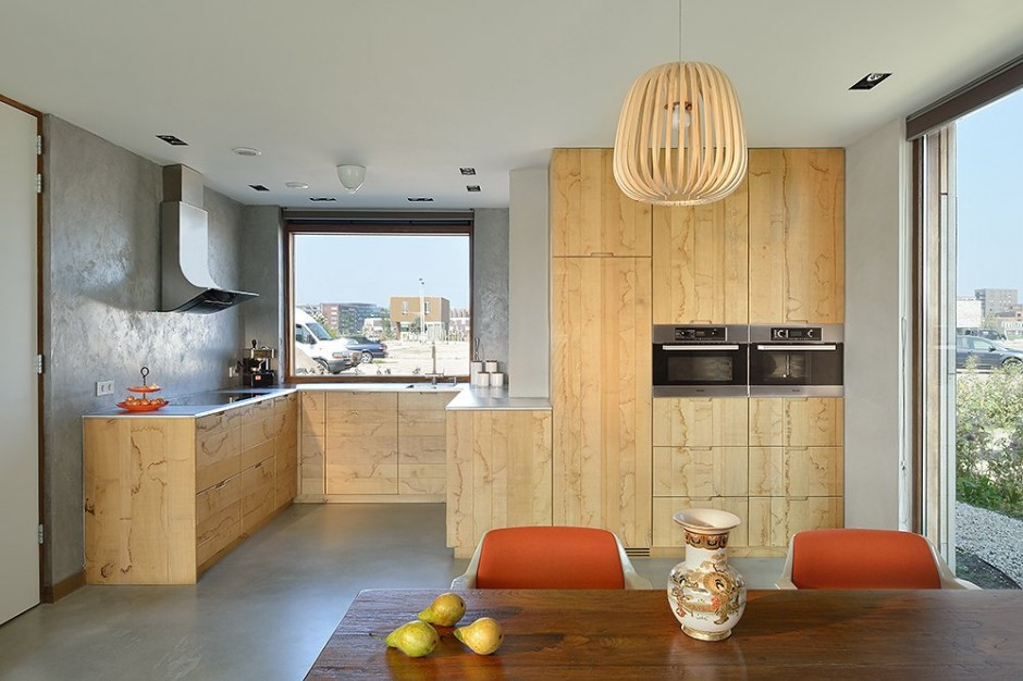 kitchen interior design Villa Rieteiland-Oost by Egeon Architecten