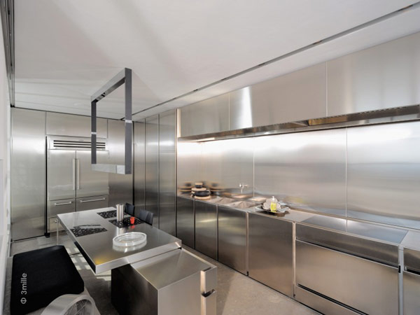 kitchen design Water Cleaning Station Transformed in a Impecable Modern Mansion homesthetics (1)