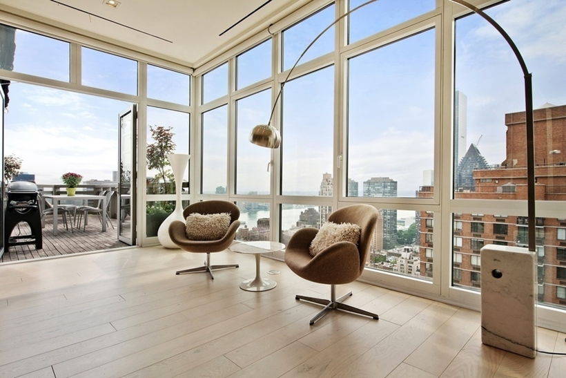 expansive views Wolf of Wall Street Penthouse Apartment in Manhattan for Sale