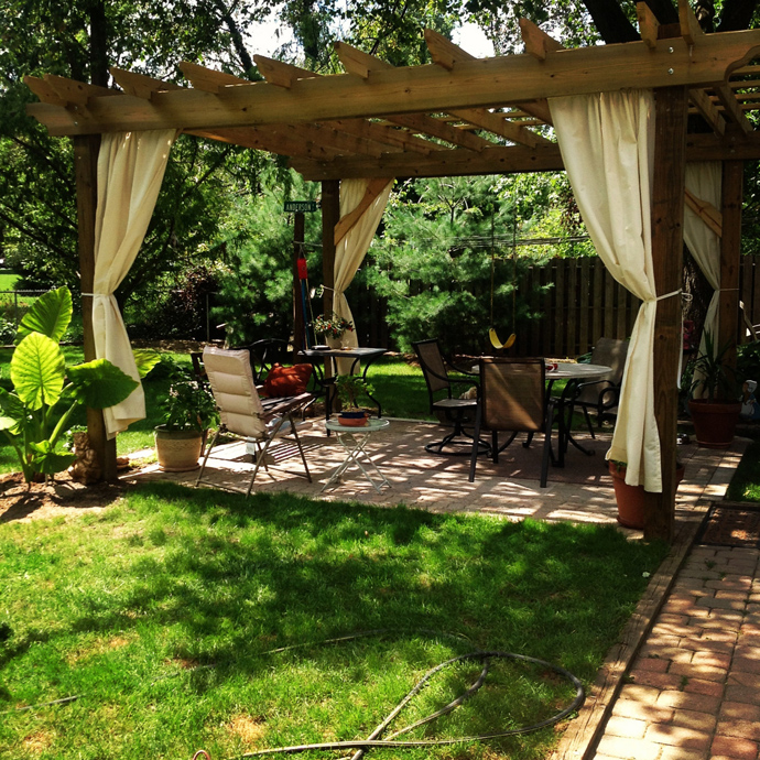 Simple Covered 40 Pergola Designs Meant To Transform Your Backyard Landscaping Into A Green Heaven