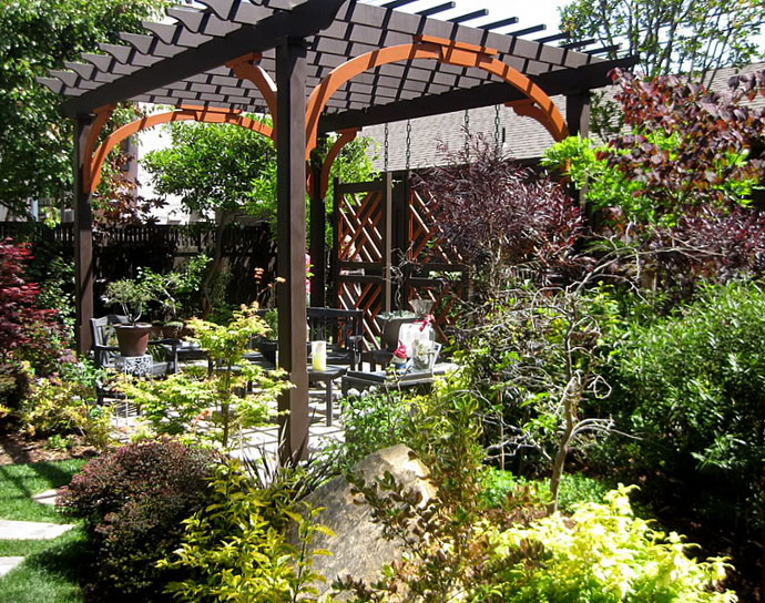 amazing 40+ Pergola Designs Meant to Transform Your Backyard Landscaping Into a Green Heaven