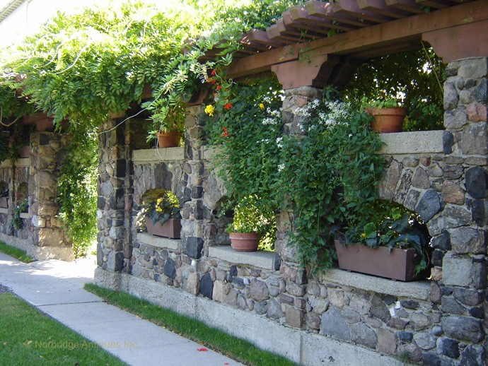 rocky pergola 40+ Pergola Designs Meant to Transform Your Backyard Landscaping Into a Green Heaven