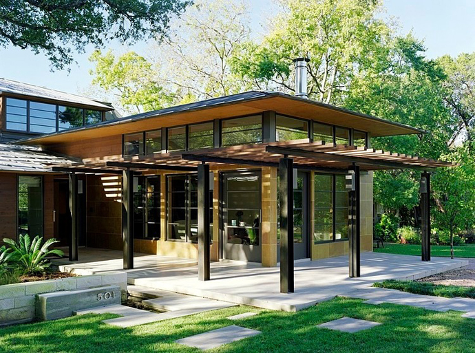 breathtaking backyard landscaping ideas Asian Influences in Modern Mansion- Tarrytown Residence by Webber + Studio, Architects